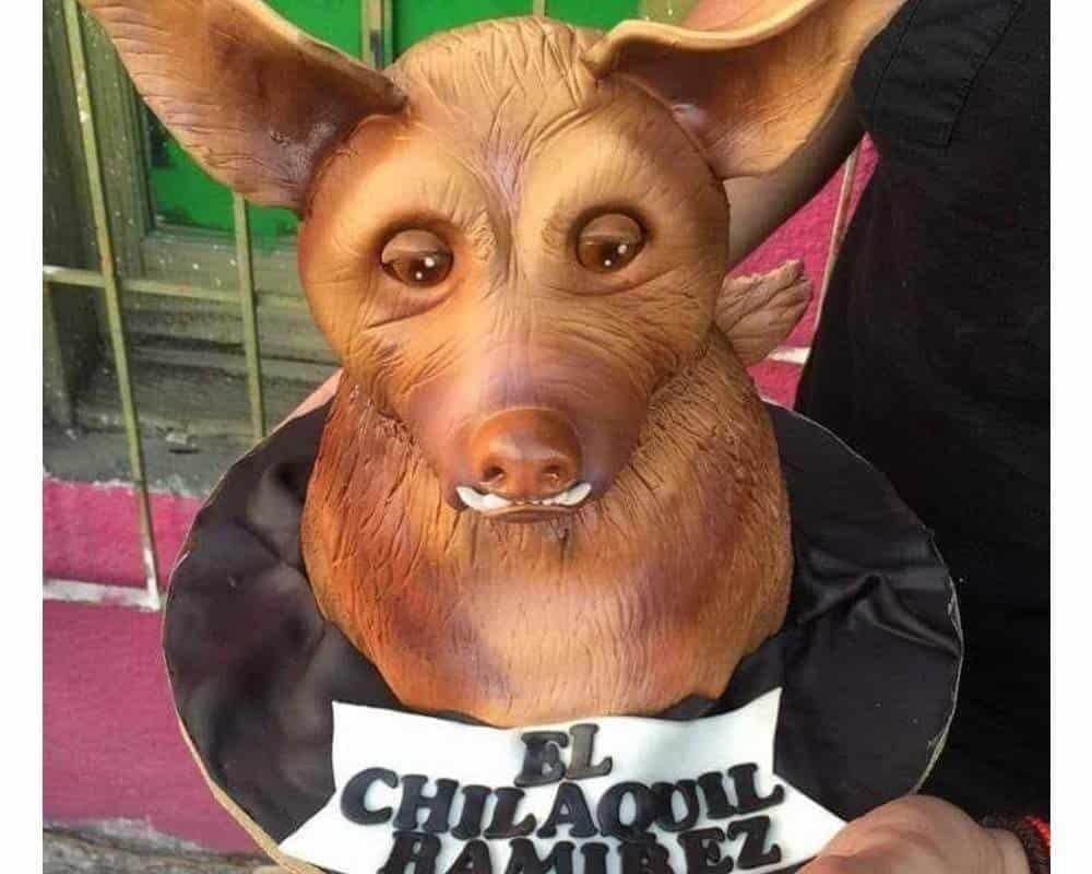 El mismísimo pastel de El Chilakil