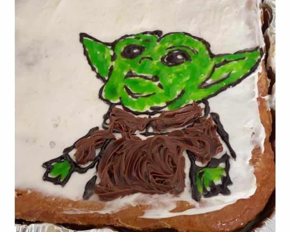 No. . . Baby Yoda no es así de feo.