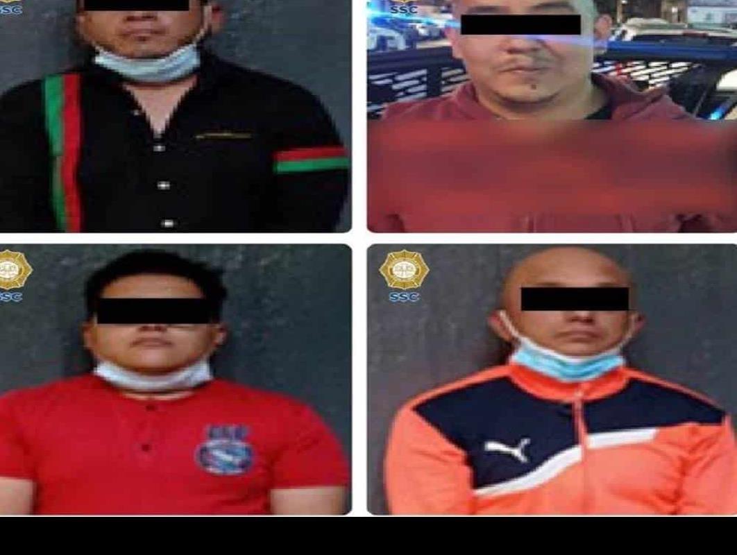 El Big Data - Atrapan en Tepito a cuatro por la ejecución de un hombre en Santa  María la Ribera